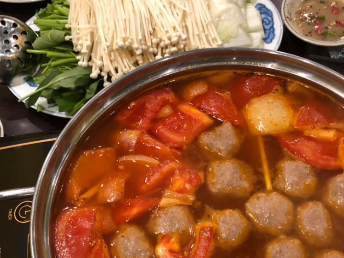 Cách nấu món lẩu cá thác lác chua cay