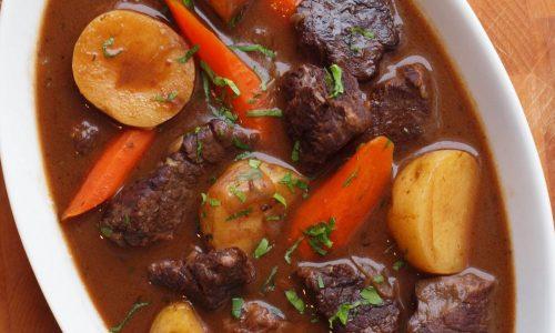 Cách nấu thịt trâu hầm rau củ quả ngon và bổ dưỡng