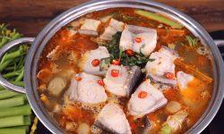 Cách nấu lẩu cá bóp măng chua thơm ngon chuẩn vị miền Tây