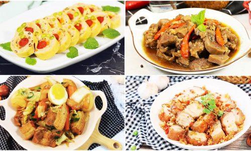 Các món ngon từ thịt lợn đầy dinh dưỡng, đơn giản, dễ làm
