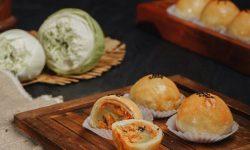 Cách làm bánh trung thu Đài Loan nướng nhân chà bông trứng muối
