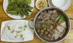 Cách nấu món vịt om sấu đặc sản Hà Nội với vị ngon khó cưỡng