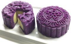 Cách làm bánh trung thu khoai lang tím thơm dẻo ngon không cần lò nướng